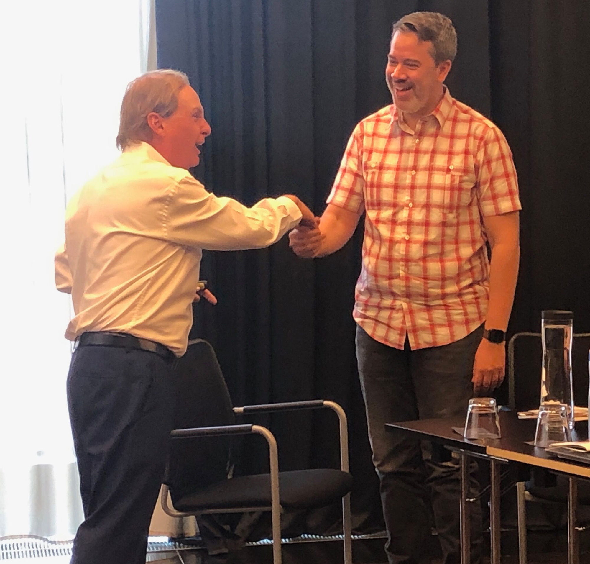 Paul Boross executive coaching client in Germany in the art and science of instant rapport