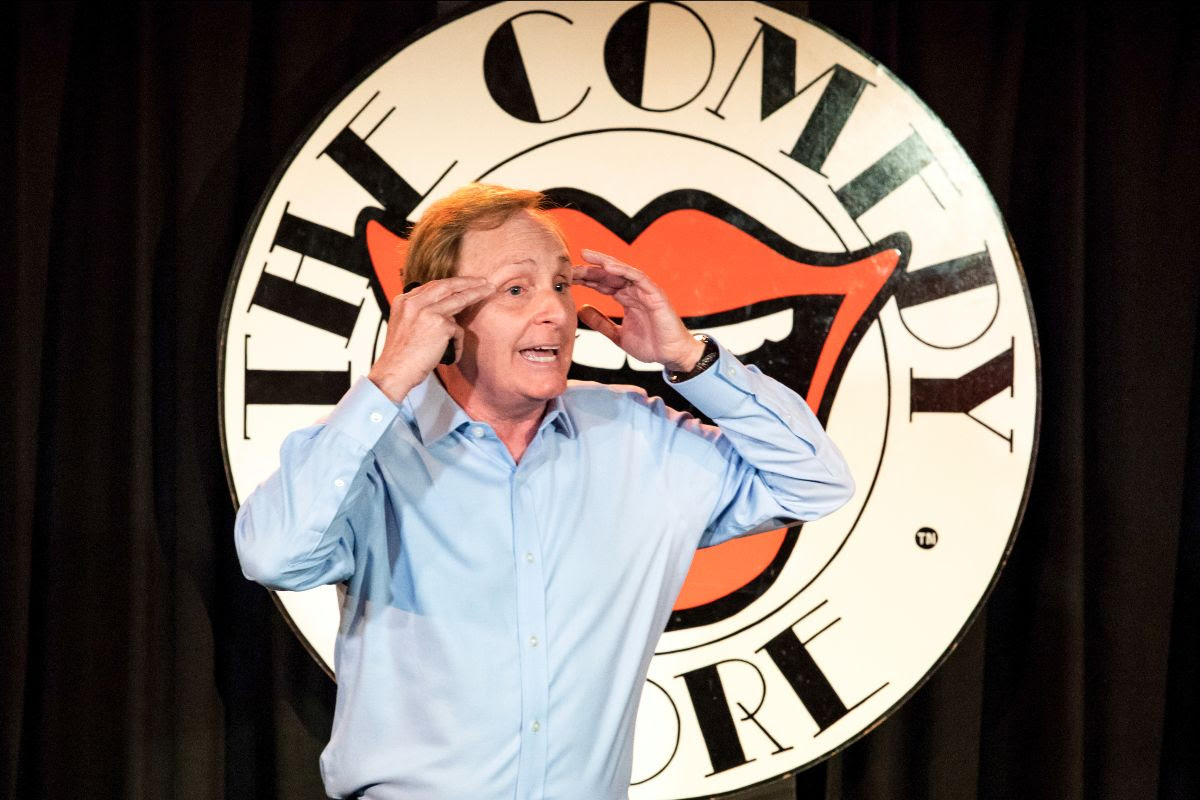 Paul at The Comedy Store