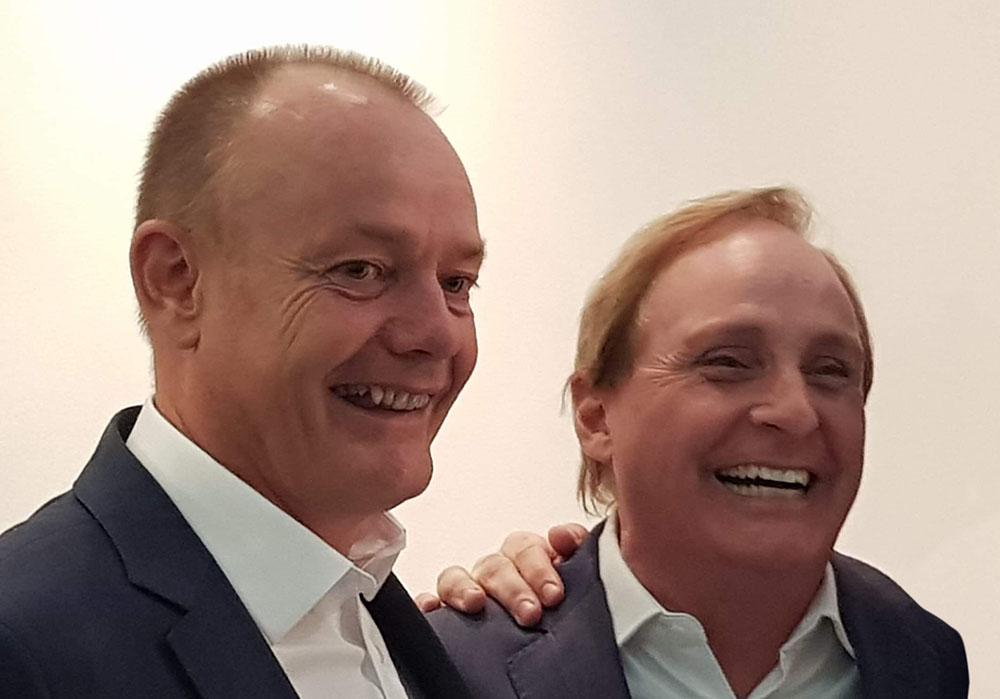 Brian Colbert and Paul Boross