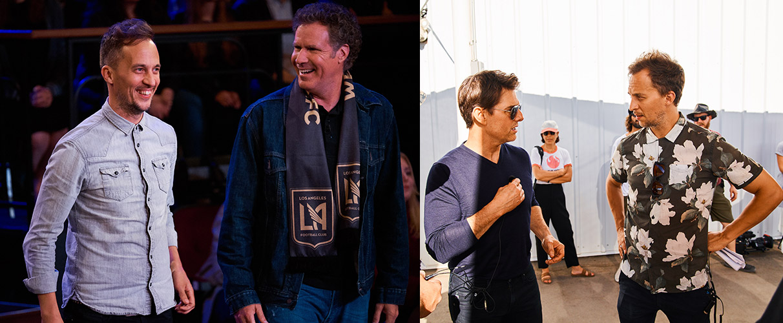 James Longman Will Ferrell Tom Cruise